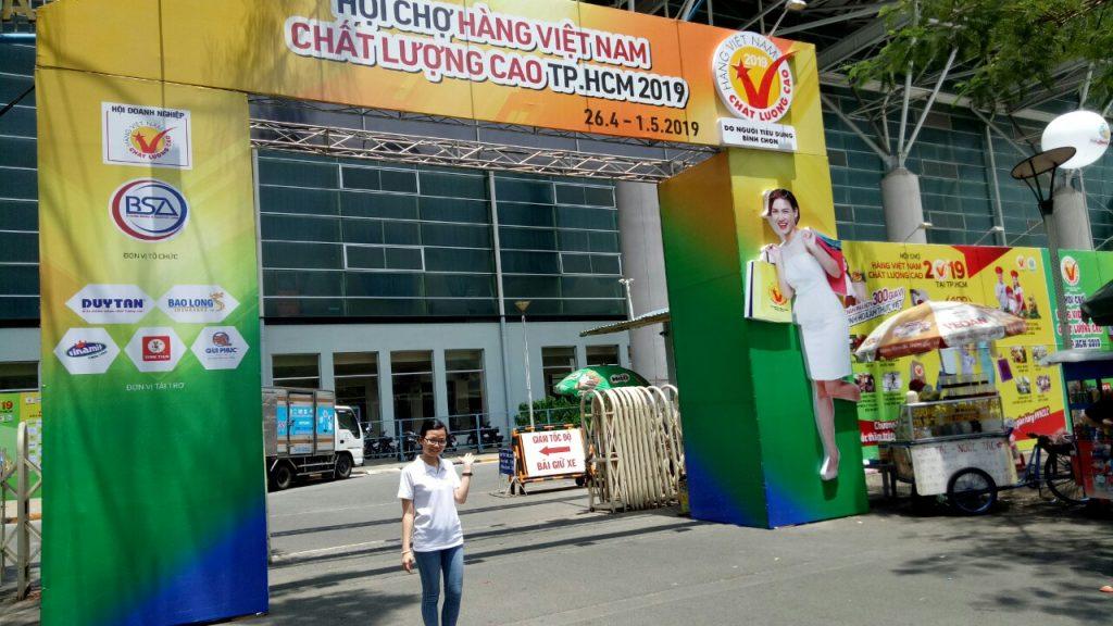 DAGIACO tham gia hội chợ Hàng Việt Nam Chất Lượng Cao 2019