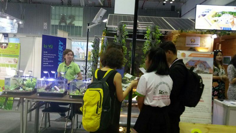 Triễn lãm quốc tế Công nghệ môi trường, năng lượng và sản phẩm sinh thái