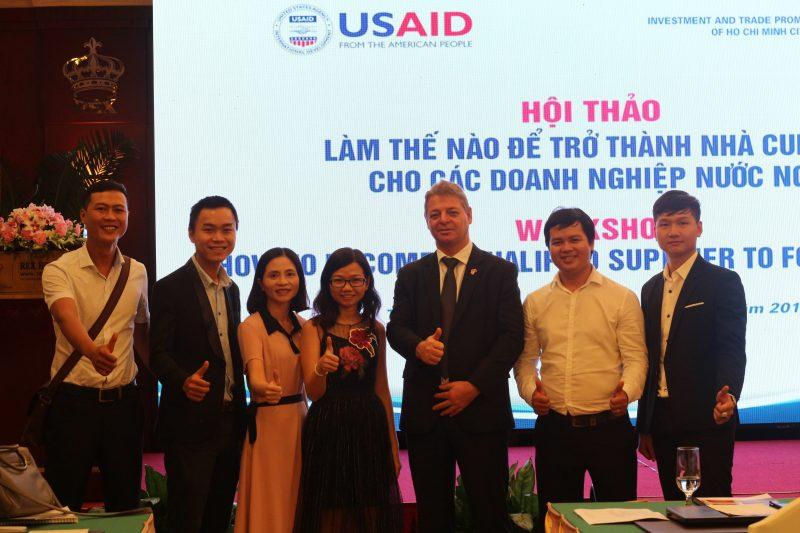 ông ty TNHH Dagiaco tham gia chương trình Hội thảo làm thế nào để trở thành nhà cung ứng cho các doanh nghiệp nước ngoài