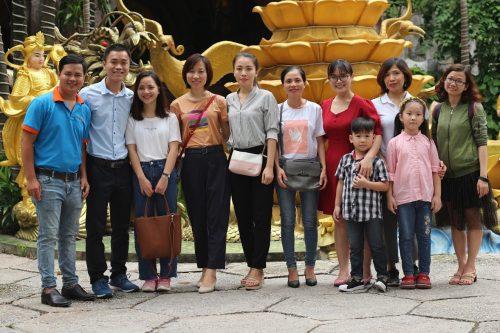 Công ty Dagiaco tổ chức chuyến từ thiện đến mái ấm tình thương chùa Kỳ Quang II