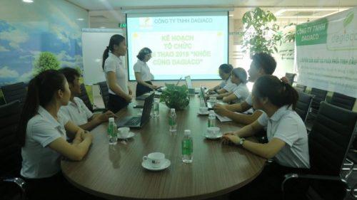 Công ty Dagiaco tổ chức chương trình sức khỏe
