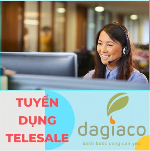 Công ty Dagiaco tuyển dụng telesale