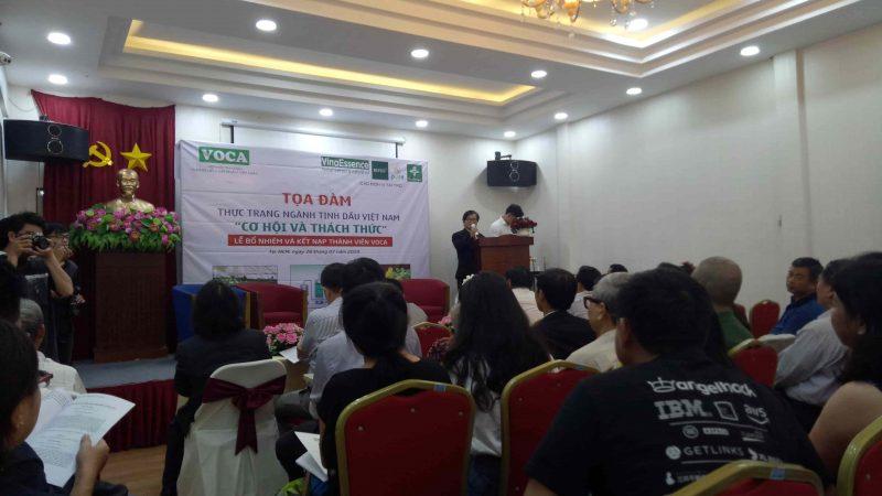 Tọa đàm hiệp hội tinh dầu Việt Nam