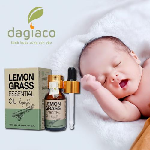 tinh dầu sả dùng cho trẻ sơ sinh