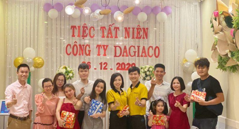 Tiệc tất niên công ty Dagiaco